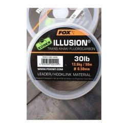 Fluorocarbone FOX Edges Illusion Trans Khaki 50m 30Lbs