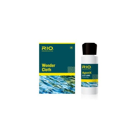 Nettoyage Soie Agent x line RIO cleaning kit