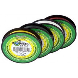 Tresse POWER PRO 2740m VERTE 0.28mm 20kg