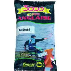 Amorce SENSAS 3000 Super anglaise Brèmes 1kg