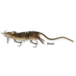 Leurre SAVAGE GEAR 3D Rat 30cm Brown