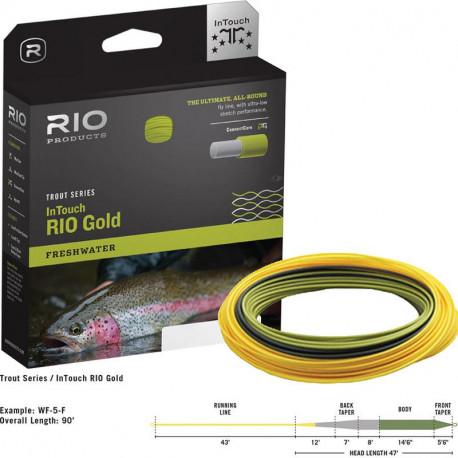 Soie RIO Gold InTouch WF5 Flottante