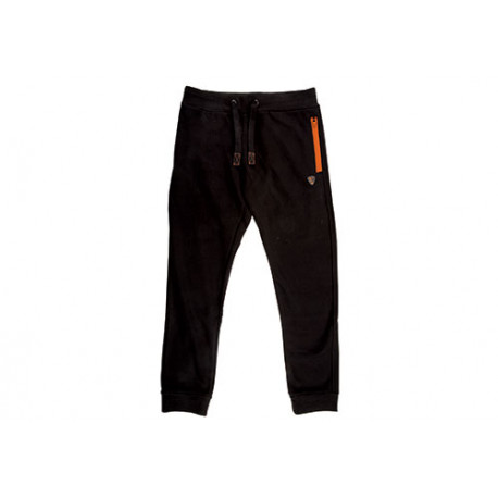 FOX COLLECTION Joggers Black//Orange Taille S