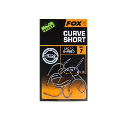 Hameçon FOX Curve short N°7