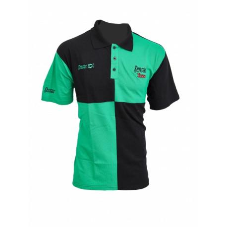 Polo SENSAS Harlequin Vert - Noir Taille S