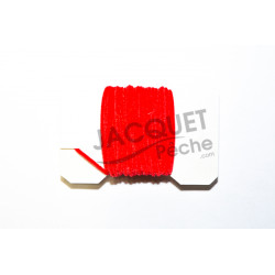 Chenille Ultra FLY SCENE Rouge 1mm