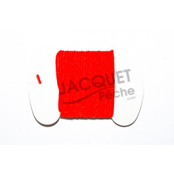 Chenille Ultra FLY SCENE Rouge 2mm