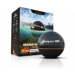 Deeper Fishfinder Détecteur de poissons Smart PRO + Wi-Fi GPS noire