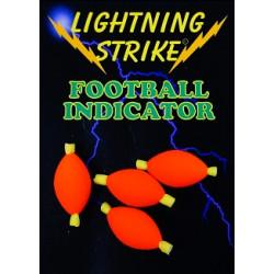 Lightning strike football indicator dispenser Large