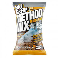 Big carp BAIT-TECH method mix Tiger peanut 2kg