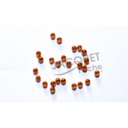 Bille Tungstène JMC Orange Métalique 3.2mm 25 pcs