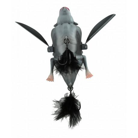 Lures SAVAGE GEAR 3D Bat 12.5 cm Grey