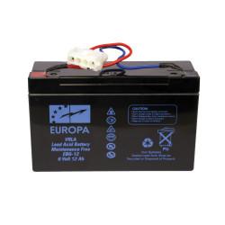 Batterie plomb ANATEC 6v 12Ah