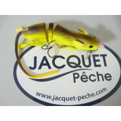 Leurre SAVAGE GEAR 3D Rat 20cm Fluo Yellow
