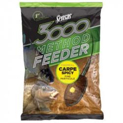 Amorce SENSAS 3000 Method feeder Carpe Spicy 1Kg