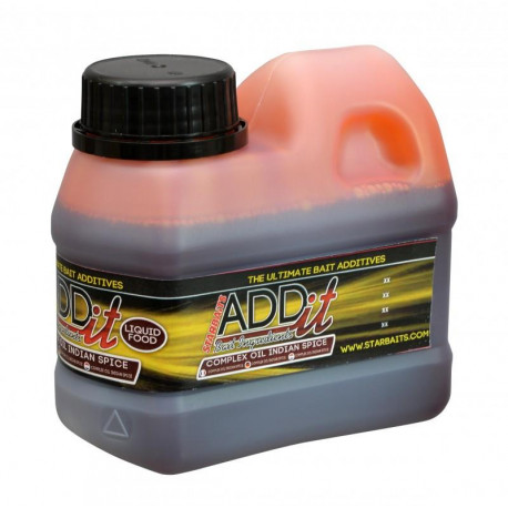 Add'it liquid STARBAITS complexe oil indian spice 500ml