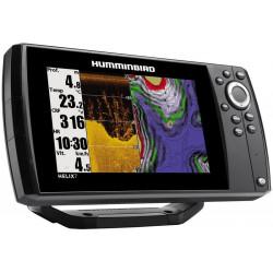 Sondeur HUMMINBIRD Helix 7X CHIRP G2 DI GPS sonde tableau arrière