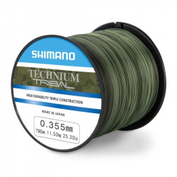 Nylon SHIMANO TECHNIUM Tribal 0.35mm 790m 11.50kg 25.30lb