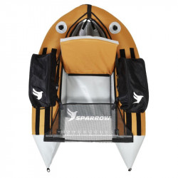 Float tube SPARROW Trium Orange/Gris