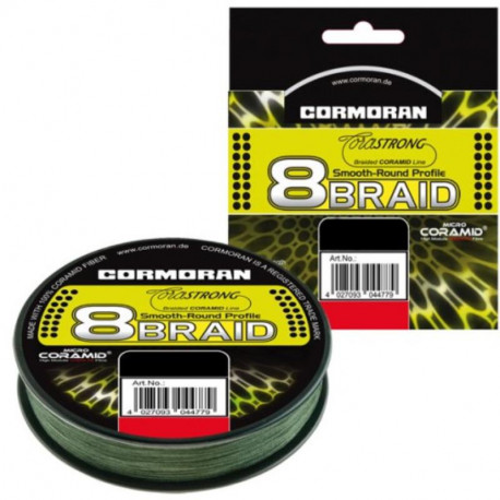 Tresse CORMORAN 8-Braid 1200m 0.20mm 15.1kg