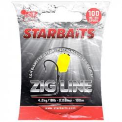 Nylon STARBAITS Zig line - 0.29mm - 6.8Kg - 100M