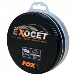 Nylon FOX Exocet Trans Khaki 1000m 13Lb/5.90kg 0.309mm