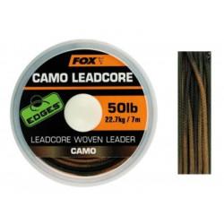 Leadcore FOX Camo woven - 50Lb/22.7KG - 25M