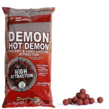 Starbaits Hot Demon Boilies 20mm 2,5kg