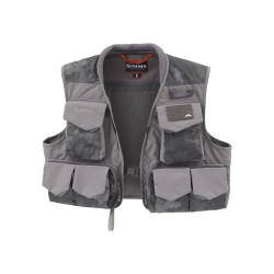 SIMMS Freestone Vest Hex flo camo L