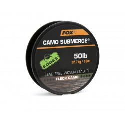 Tresse Camo Submerge FOX Fleck Camo - 50Lb/22.7Kg - 10M