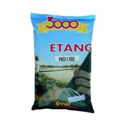 Amorce SENSAS 3000 Etang noire 1KG