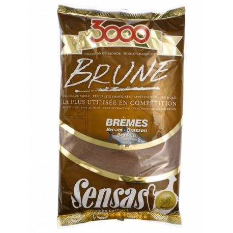Amorce SENSAS 3000 Breme brune 1kg