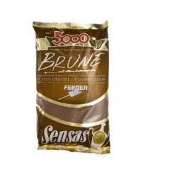 Amorce SENSAS 3000 Feeder brune 1kg
