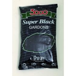 Amorce SENSAS 3000 Super black gardon 1kg