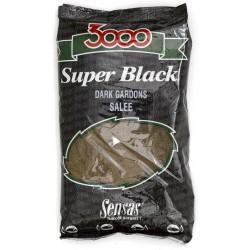 Amorce SENSAS 3000 Dark gardons salée 1kg