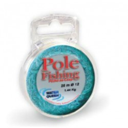 Nylon WATER QUEEN Pole fishing 25m 0.16mm