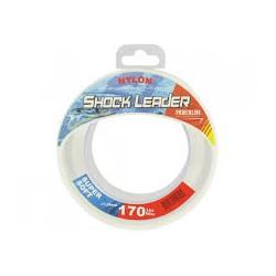 Nylon POWERLINE Shock Leader cristal 50m 60 40lbs