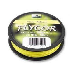 Backing CORMORAN Flycor jaune 50m 20Lbs