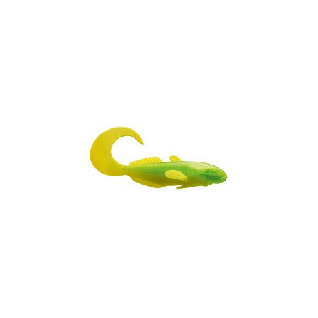 Leurre CORMORAN Curly goby 7cm Chartreuse lime