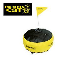 Bouée marker BLACK CAT noir 33cm diamètre