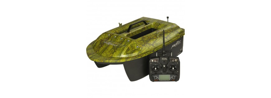 Baiting boats and accessories
