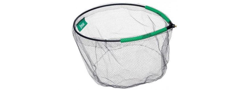 Landing net heads